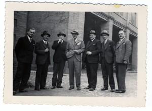 Les commerciaux de l'entreprise F. Verdier et Cie