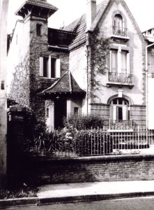 La villa Francillon, 34 rue du docteur Jean Arlaud
