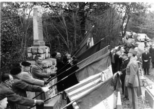 1961: inauguration du Mémorial en forêt de Bouconne