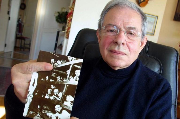 Robert Marcault et la photo connue où il apparaît aux cotés d'Elie Wiesel à Auschwitz;
