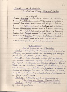 Statuts 1945 amis FV