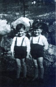 Claude et Michel Barbe, assassinés à 5 ans. Leur mère les avait laissé à Marsoulas les pensant en sécurité.