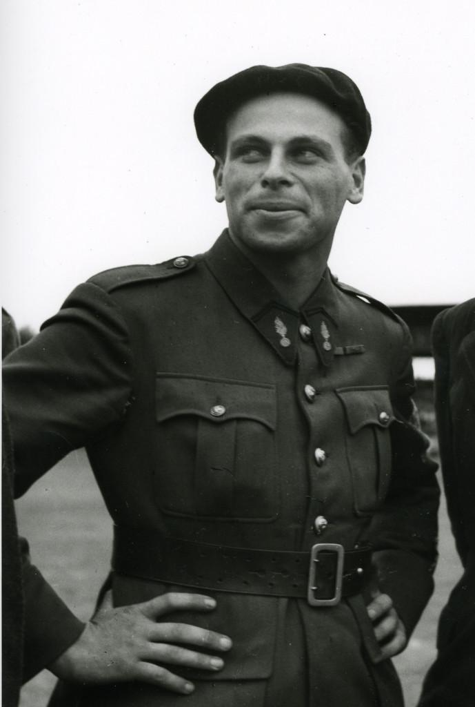 Serge Ravanel en septembre 1944. Jean Dieuzaide