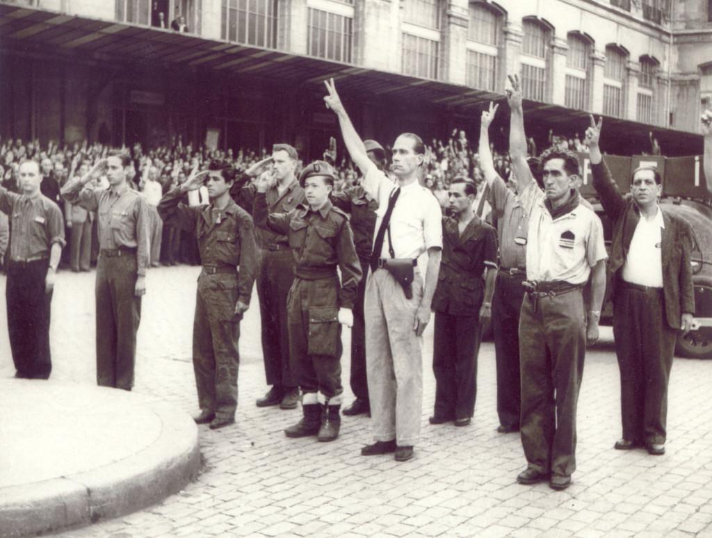 """Le """"groupe Matabiau Composé de cheminots, de syndicalistes, de FTPF, de communistes, ce groupe s'est formé et a déclenché les premiers combats de la Libération en sabotant les moyens ferroviaires et en affrontant les soldats allemands. Le groupe a perdu plus d'une trentaine de combattants pour la Libération de Toulouse."""