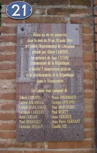 21 rue d'Orléans. Une maison anonyme a abrité la dernière réunion cachée de la Résistance.