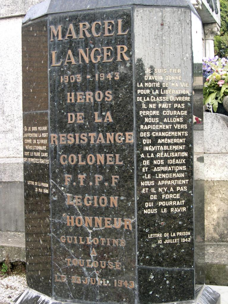 Tombe du cimetière de Terre-Cabade