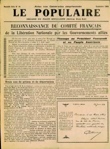 Le-Populaire-septembre-1943-page-1