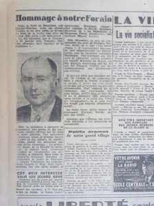 Liberte soir 6 fevrier 1945