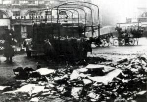 camion allemand grenadé Toulouse-Boursier