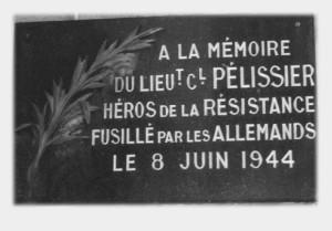 PELISSIER Stèle