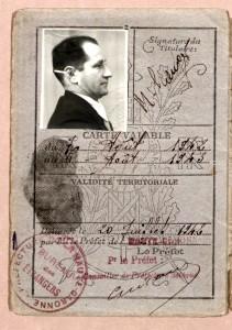 Archives départementales HG3808_W_18_carte identité étranger