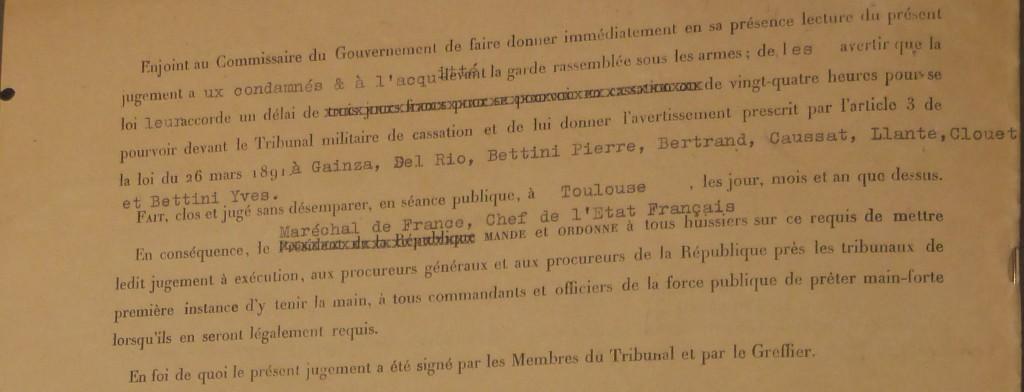 JUGEMENT TRIB MILITAIRE MARS 1941 (8)